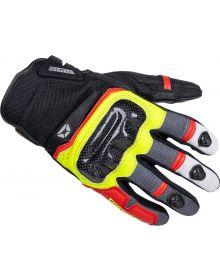 Cortech Sonic-Flo Air Gloves Red/Hi-Viz