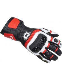 Cortech Chicane V1 RR Gloves Red/White