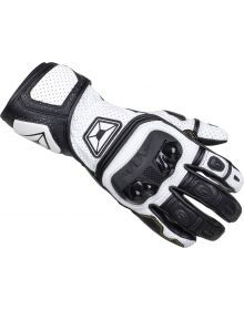 Cortech Chicane V1 RR Gloves Black/White