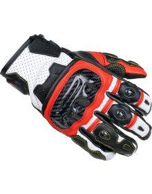 Cortech Apex V1 ST Gloves Red/White