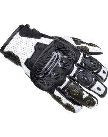 Cortech Apex V1 ST Womens Gloves Black/White