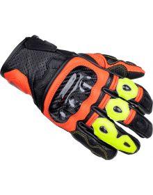Cortech Apex V1 ST Gloves Fire Red/Hi-Viz