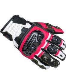 Cortech Apex V1 ST Womens Gloves Rubine/Black