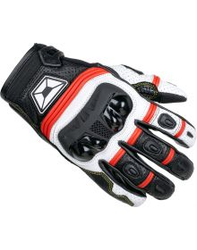 Cortech Chicane V1 ST Gloves Red/White