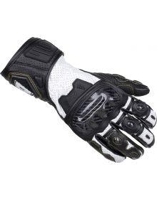 Cortech Apex V1 RR Womens Gloves Black/White