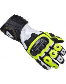Cortech Apex V1 RR Gloves Hi-Viz/Grey