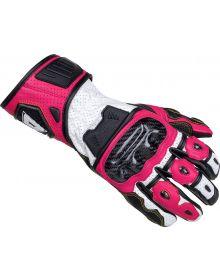 Cortech Apex V1 RR Womens Gloves Rubine/Black