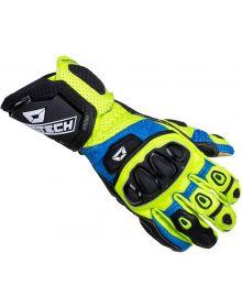 Cortech Adrenaline GP Gloves Blue/Hi-Viz