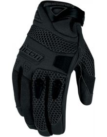 Icon Anthem Gloves Black