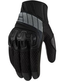 Icon Overlord Mesh Gloves Stealth Black