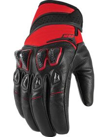 Icon Konflict Gloves Red