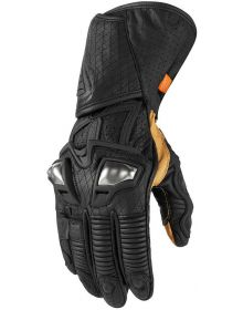 Icon Hypersport GP Gloves Black