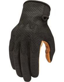 Icon Airform Gloves Black/Tan