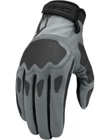 Icon Hooligan Gloves Battlescar Gray