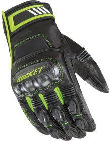 Joe Rocket Highside Gloves Black/Hi-Viz Yellow