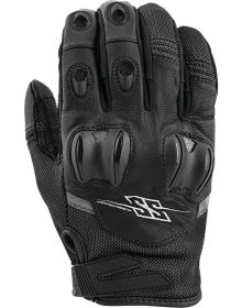 Speed and Strength Power and the Glory Leather-Mesh Gloves Black
