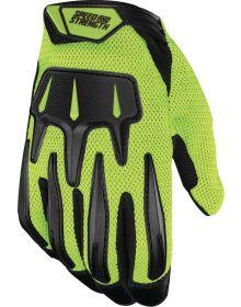 Speed and Strength Hot Head Gloves Hi-Vis/Black