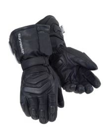 Tourmaster Synergy 2.0 Heated Electric Leather Gloves Black