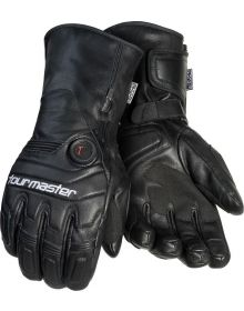 Tourmaster Synergy 7.4V Leather Glove Black