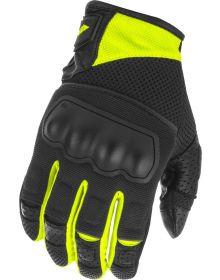 Fly Racing Coolpro Force Gloves Black/Hi-Vis