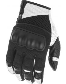 Fly Racing Coolpro Force Gloves Black/White