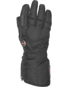 Mobile Warming Geneva Textile Heated Gloves 7.4v Black