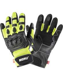 Noru Kiryu Gloves Fluorescent Yellow/Black