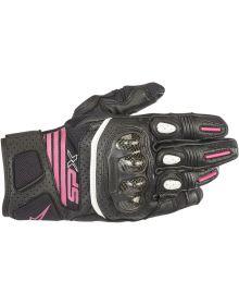 Alpinestars Stella SP-X V2 Air Carbon Womens Gloves Black/Fuchsia
