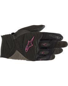 Alpinestars Stella Shore Womens Gloves Black/Fuchsia