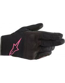 Alpinestars Stella S-Max Womens Gloves Black/Pink