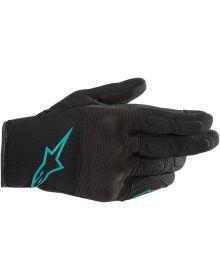 Alpinestars Stella S-Max Womens Gloves Black/Teal