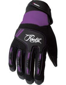 Joe Rocket Velocity 3.0 Womens Gloves Black/Purple