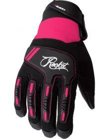 Joe Rocket Velocity 3.0 Womens Gloves Black/Pink