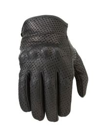 Z1R 270 Perforated Leather Womens Glove Black