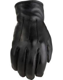 Z1R 938 Deer Skin Womens Glove Black