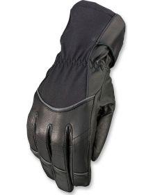 Z1R Recoil Waterproof Leather Womens Glove Black