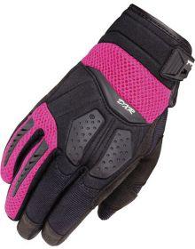 Cortech DXR Womens Gloves Black/Pink