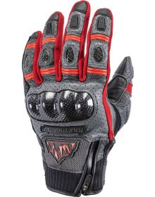 Tourmaster Horizon Sierra Peak Womens Gloves Gray/Red