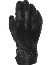 Speed and Strength Onyx Leather Womens Gloves Black