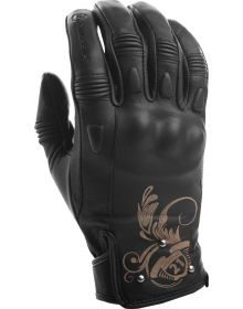 Highway 21 Black Ivy Womens Gloves Black