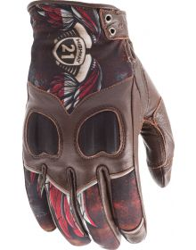 Highway 21 Vixen Womens Gloves Liberty Brown