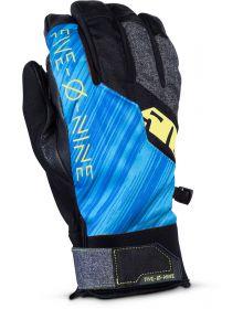 509 Freeride Snowmobile Glove Blue Hi-Vis