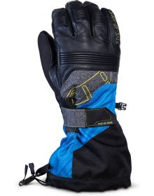 509 Range Snowmobile Glove Blue Hi-Vis