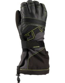 509 Range Snowmobile Gloves Lime