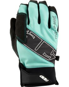 509 Factor Snowmobile Gloves Teal