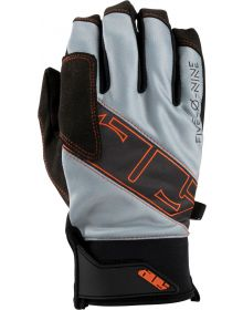 509 Factor Snowmobile Gloves Concrete Orange