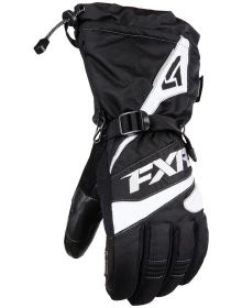 FXR Fuel Gloves Black/White