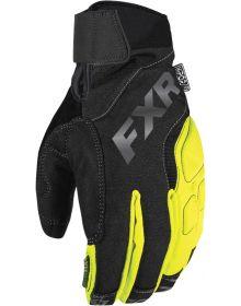 FXR Attack Lite Glove Black/Hi Vis