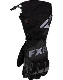 FXR Recon Heated Glove Black