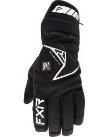 FXR Transfer Pro Cuff E-Tech Heated Gloves Black